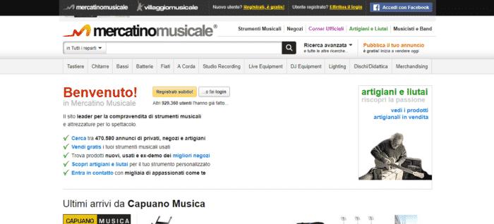 Strumenti Musicali In Italia mercatino musicale