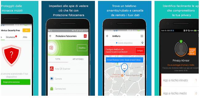 Antivirus Per Android Gratis avira