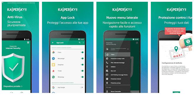 Antivirus Per Android Gratis kasperky