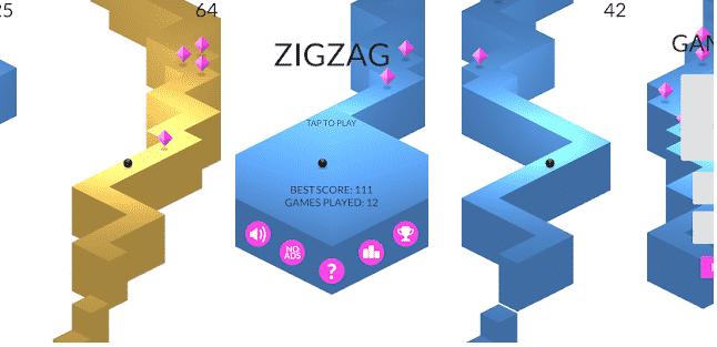 Giochi Che Occupano Poca Memoria zig zag