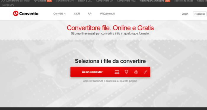 come trasformare file Word in PDF