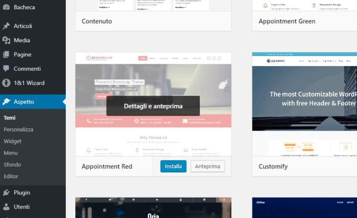 Come installare i temi su WordPress