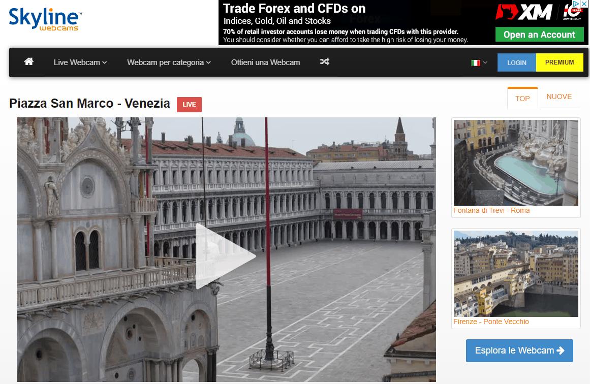 Come Vedere Immagini Satellitari In Tempo Reale Gratis skylinewebcams