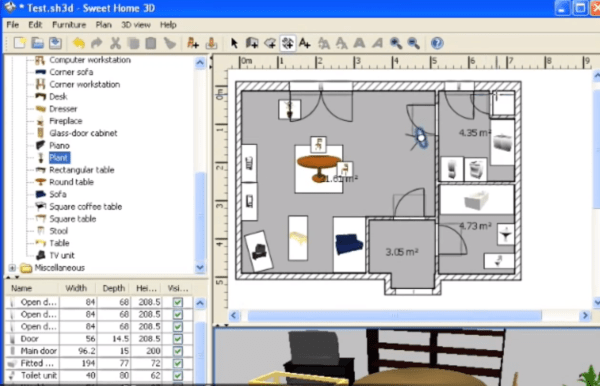 Progettare casa 3d online for Programma rendering free