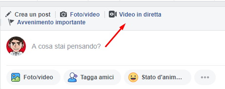 Come Fare Video in Diretta Su Facebook