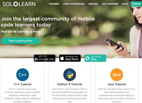 nuove app per Imparare a Programmare