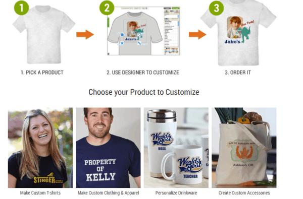 fare soldi online con t-shirts