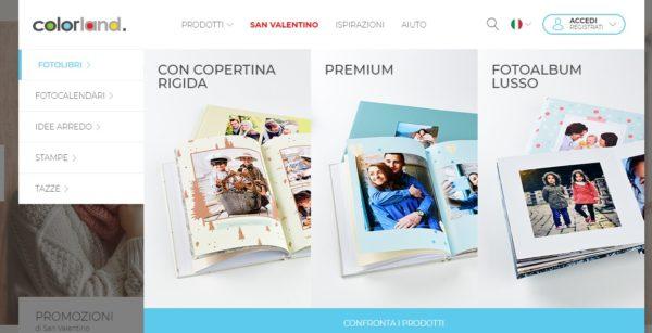 Creare Un Fotolibro Online Con Colorland