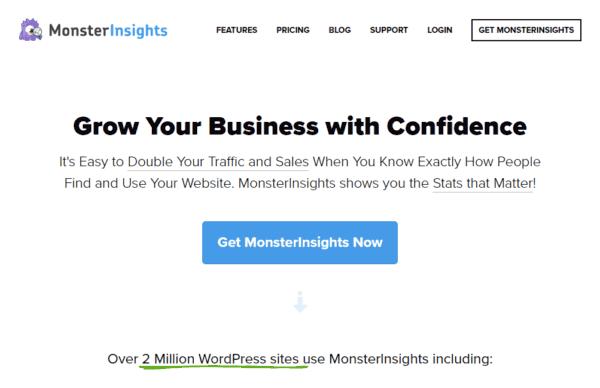GDPR WordPress monsterinsights