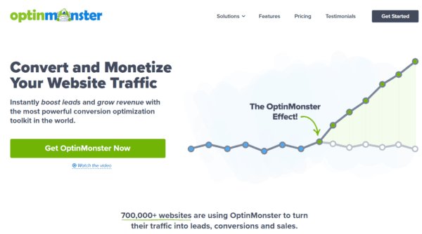 GDPR WordPress con optinmonster