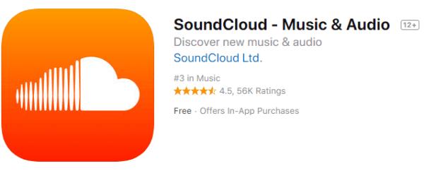 app per ascoltare musica offline con soundcloud