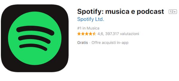 app per ascoltare musica offline con spotify