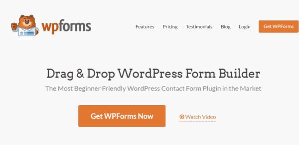 GDPR WordPress con wp forms