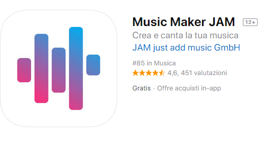 app per fare Rap con music maker jam