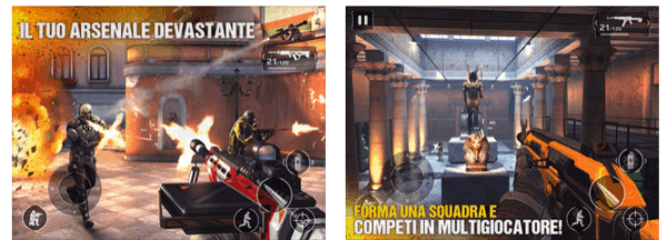 Giochi di Guerra Gratis con modern combat 5