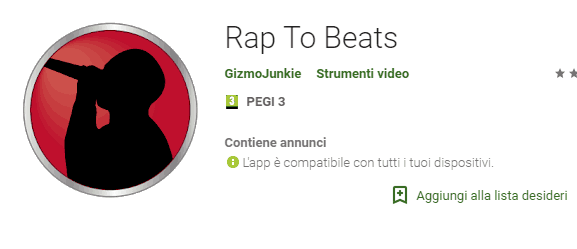 app per fare Rap con rap to beats