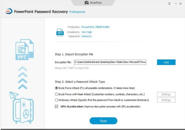 Come Recuperare La Password di PowerPoint con smartkey