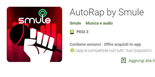 app per fare Rap con autorap by smule