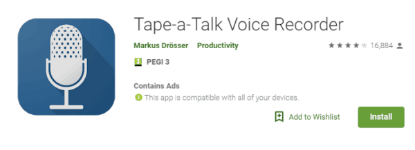 app per fare Rap con tape a talk
