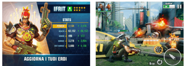 Giochi di Guerra Gratis con hero hunters