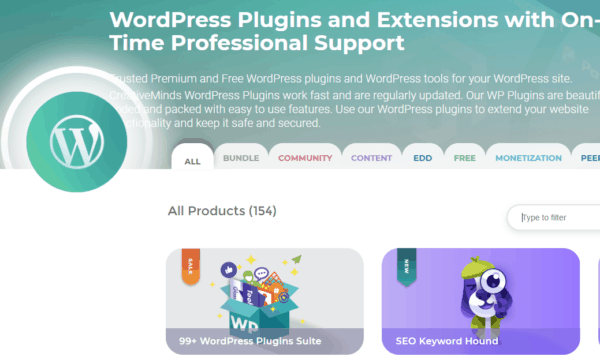 creativeminds plugin wordpress