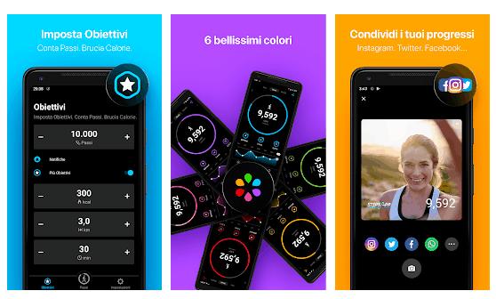 stepsapp App Pedometro Contapassi Gratis