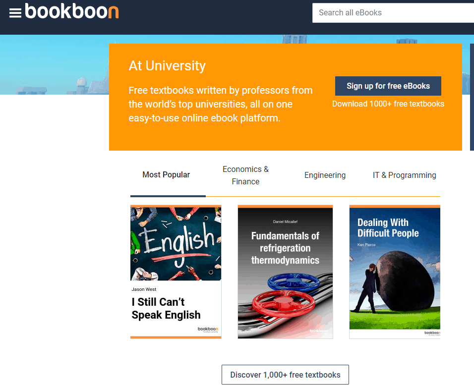 libri universitari bookboon