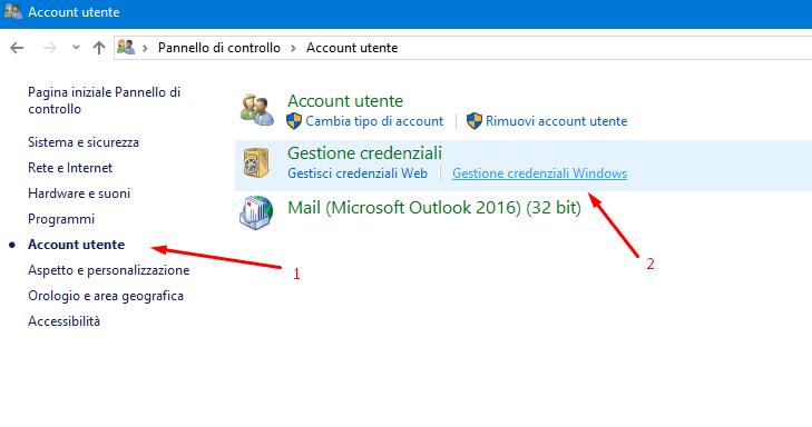 Dove Windows 10 Salva le Password di Sistema