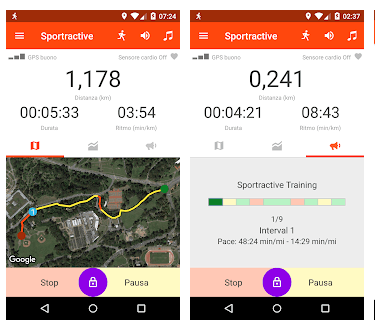 App Per Correre con sportactive