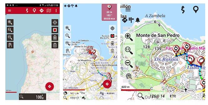 Applicazioni di Trekking con orux maps