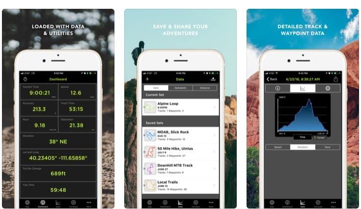 Applicazioni di Trekking con gps kit
