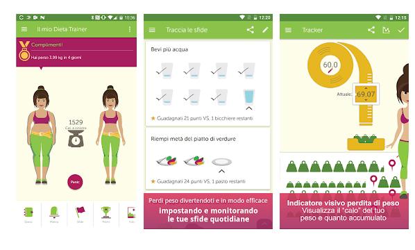 Dieta Trainer e Conta Calorie