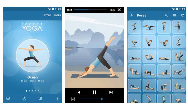poket yoga app per fare yoga