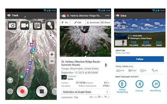 Ramplr app per trekking online
