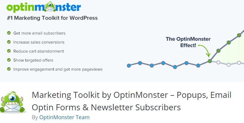 optinmonster plugin per automatizzare wordpress