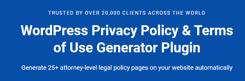 wp legal page