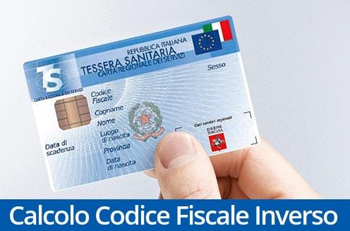 Calcolo Codice Fiscale Inverso