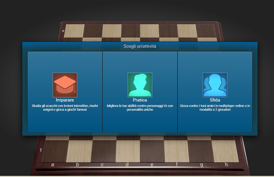 sparck chess scacchi