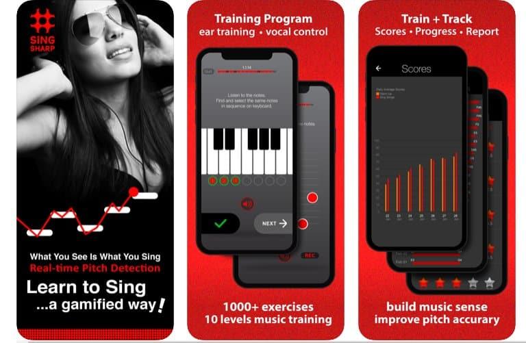 sing sharp app per cantare