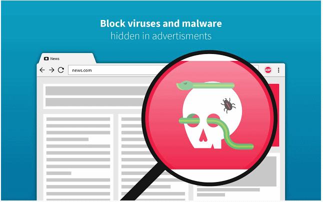 Estensioni Per La Privacy di Google Chrome con adblus