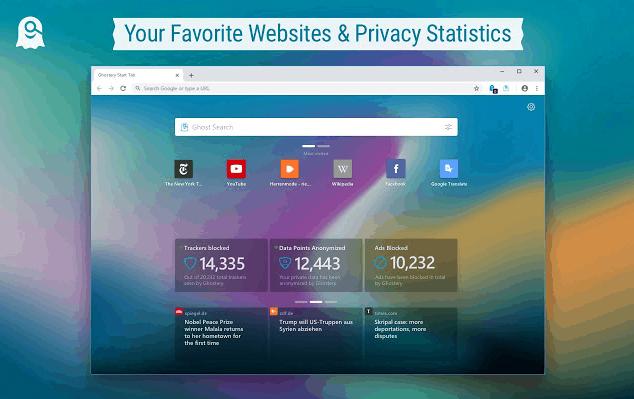 ghostery Estensioni Per La Privacy di Google Chrome