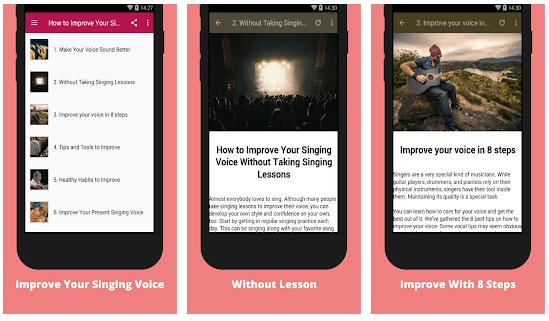 singing voice app