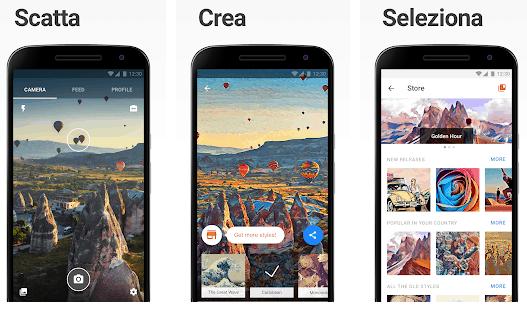 App Per Migliorare Le Foto con prisma