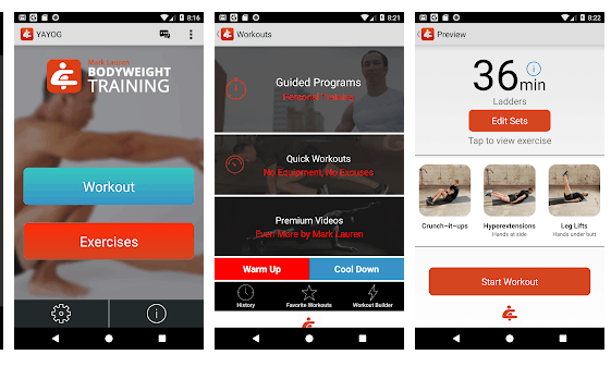 your gim App di Bodybuilding per Android e iOS
