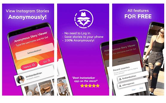 anonymus stories app per Guardare Le Storie su Instagram Senza Essere Visti