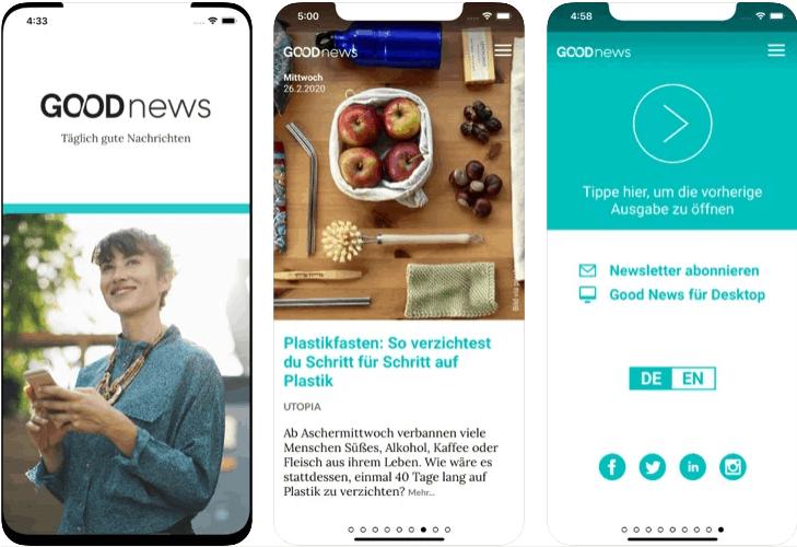 goodnews notizie allegre in app