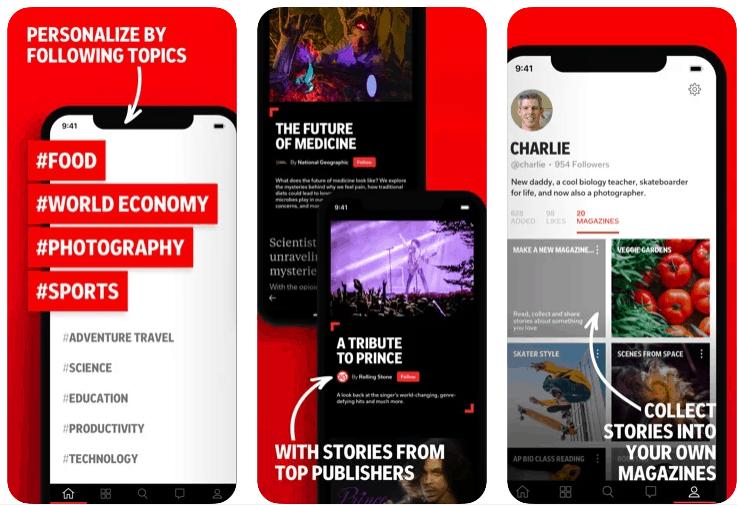 flipboard notizie italiane per app