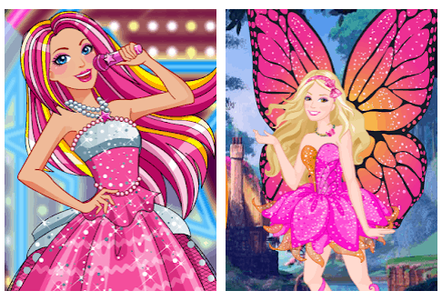 Princess Fairy Dress Giochi di Barbie Gratis