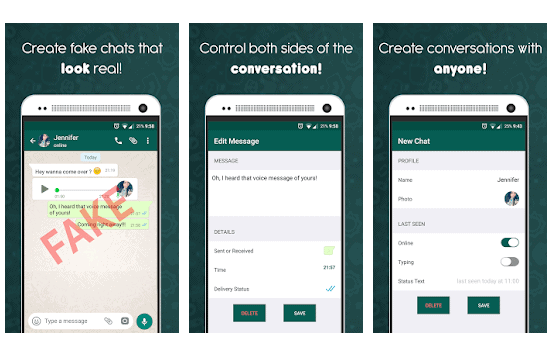 Fake Chat Conversations – WhatsMessage