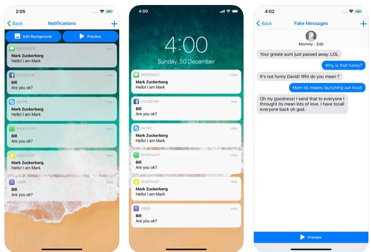 fake messages creare falsi messaggi